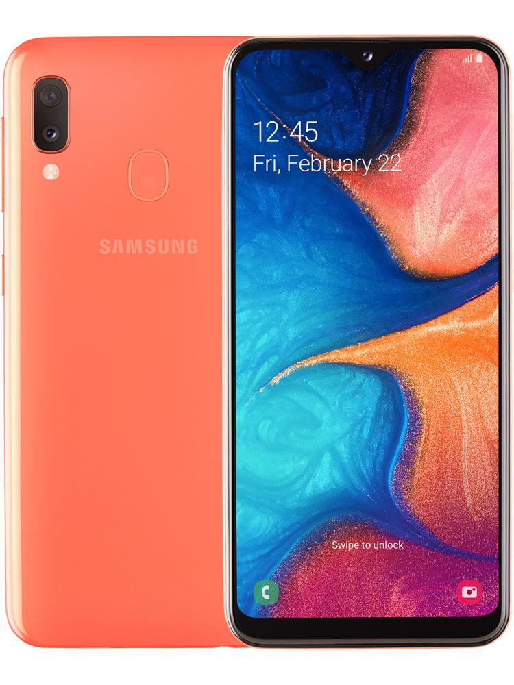 Samsung Galaxy A20e 3/32GB коралловый